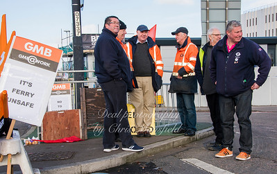 Feb 3rd 2017  woolwich ferry strike Mansfield 05