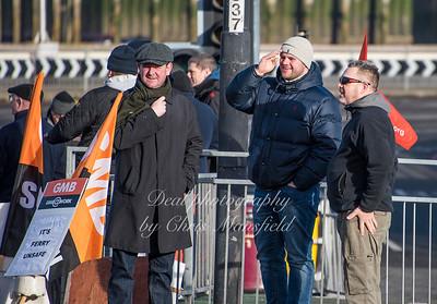 Feb 3rd 2017  woolwich ferry strike Mansfield 07