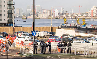 Feb 3rd 2017  woolwich ferry strike Mansfield 06
