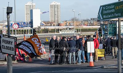 Feb 3rd 2017  woolwich ferry strike Mansfield 02
