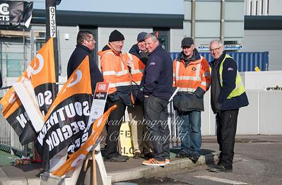 Feb 3rd 2017  woolwich ferry strike Mansfield 04