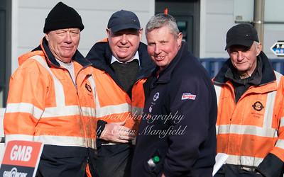 Feb 3rd 2017  woolwich ferry strike Mansfield 11