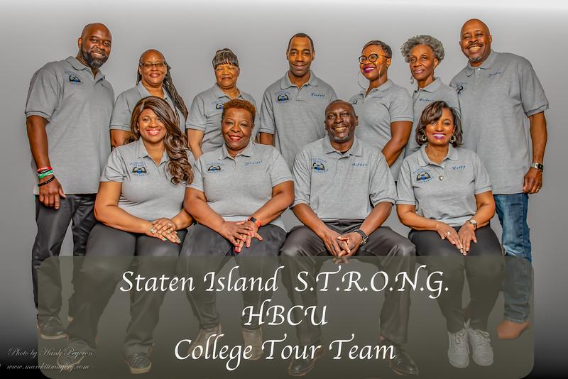 Staten Island S.T.R.O.N.G. HBCU College Tour Team