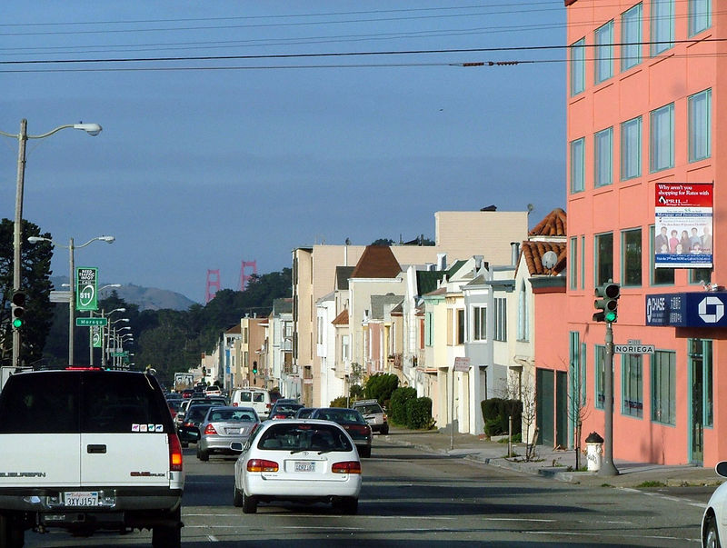 San Francisco 19th Avenue daytime