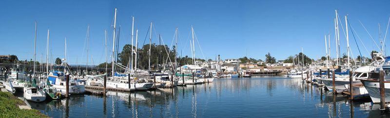 Harbour at Santa Cruz California