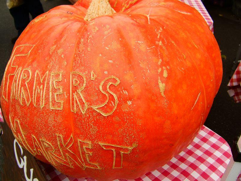 Farmer's Market Downtown Mountain View California.