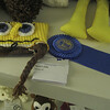Karen Joslin won a blue ribbon!