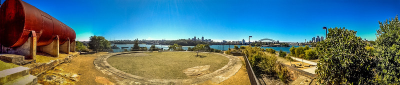 Ballast Point Park, Sydney<br /> It was certainly a Grease Plant with a great view.