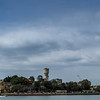 Sydney, Australia<br /> Cockatoo Island, seen from Woolwich.