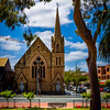 Parramatta, NSW, Australia<br /> Parramatta Congregational Church, opened 1871. Designed by Thomas Rowe, built by George Peters.
