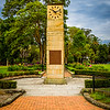 Parramatta, NSW, Australia<br /> The 'Gollan Clock' in Prince Alfred Park. Recognising the parliamentary sevices of George Charles Gollan. Built 1954.
