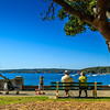 Balmoral, Sydney, NSW, Australia<br /> The Esplanade, beside Hunter Beach.