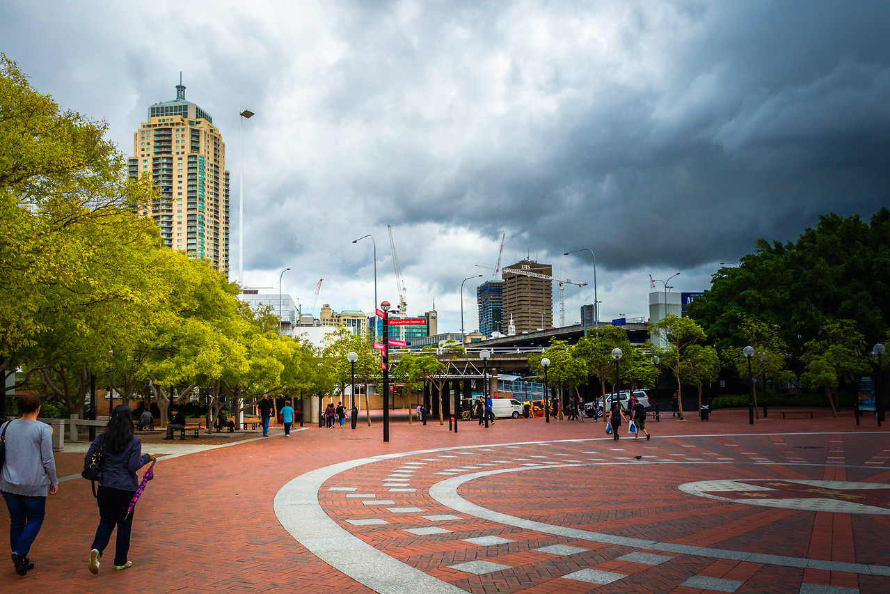 Darling Harbour, Sydney, NSW, Australia