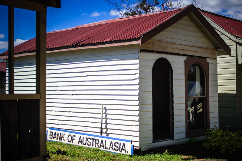 Australiana Pioneer Village, Wilberforce<br /> Bank of Australasia, 1826.