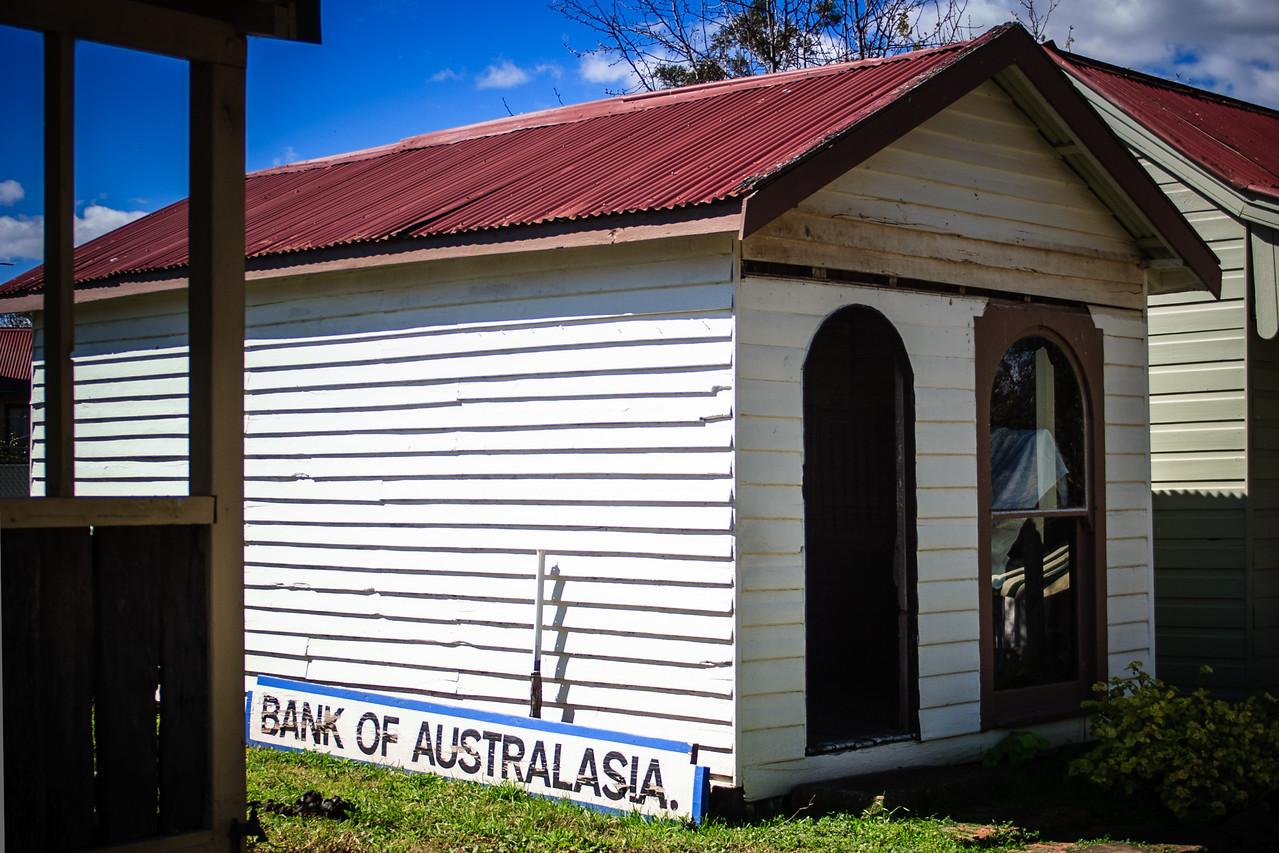 Australiana Pioneer Village, Wilberforce<br /> Bank of Australasia, 1826.