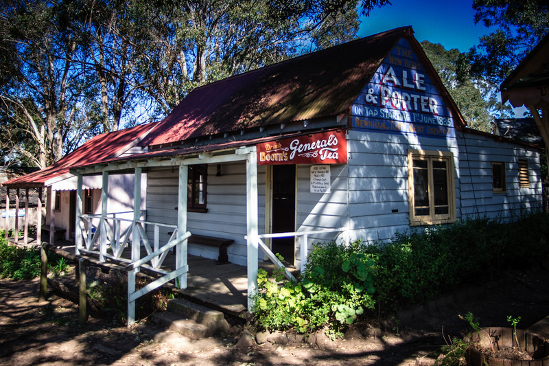 Australiana Pioneer Village, Wilberforce<br /> Kenso Cottage, 1880.