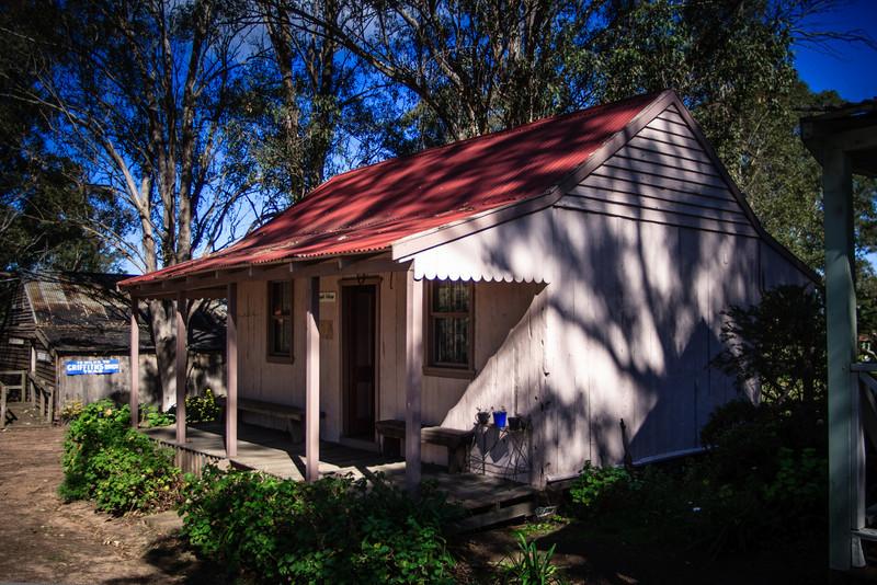 Australiana Pioneer Village, Wilberforce<br /> Mangold Cottage, 1887.