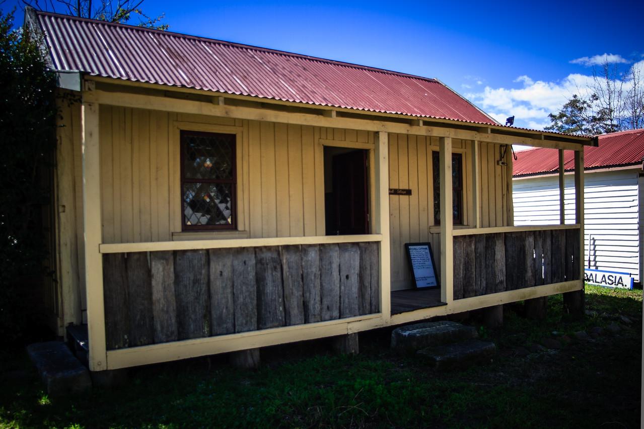 Australiana Pioneer Village, Wilberforce<br /> Mitchell Cottage.