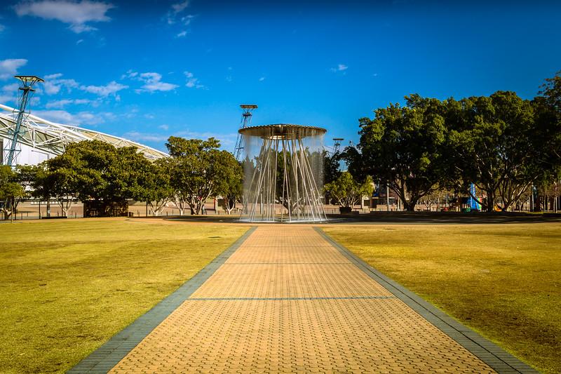Sydney Olympic Park (formerly part of Homebush Bay), NSW, Australia