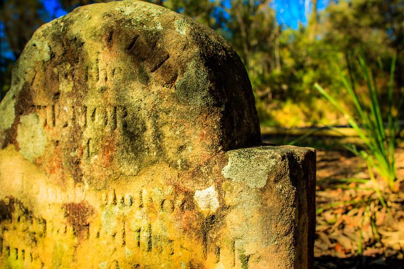 Grave of John Donohue, Linden, Blue Mountains