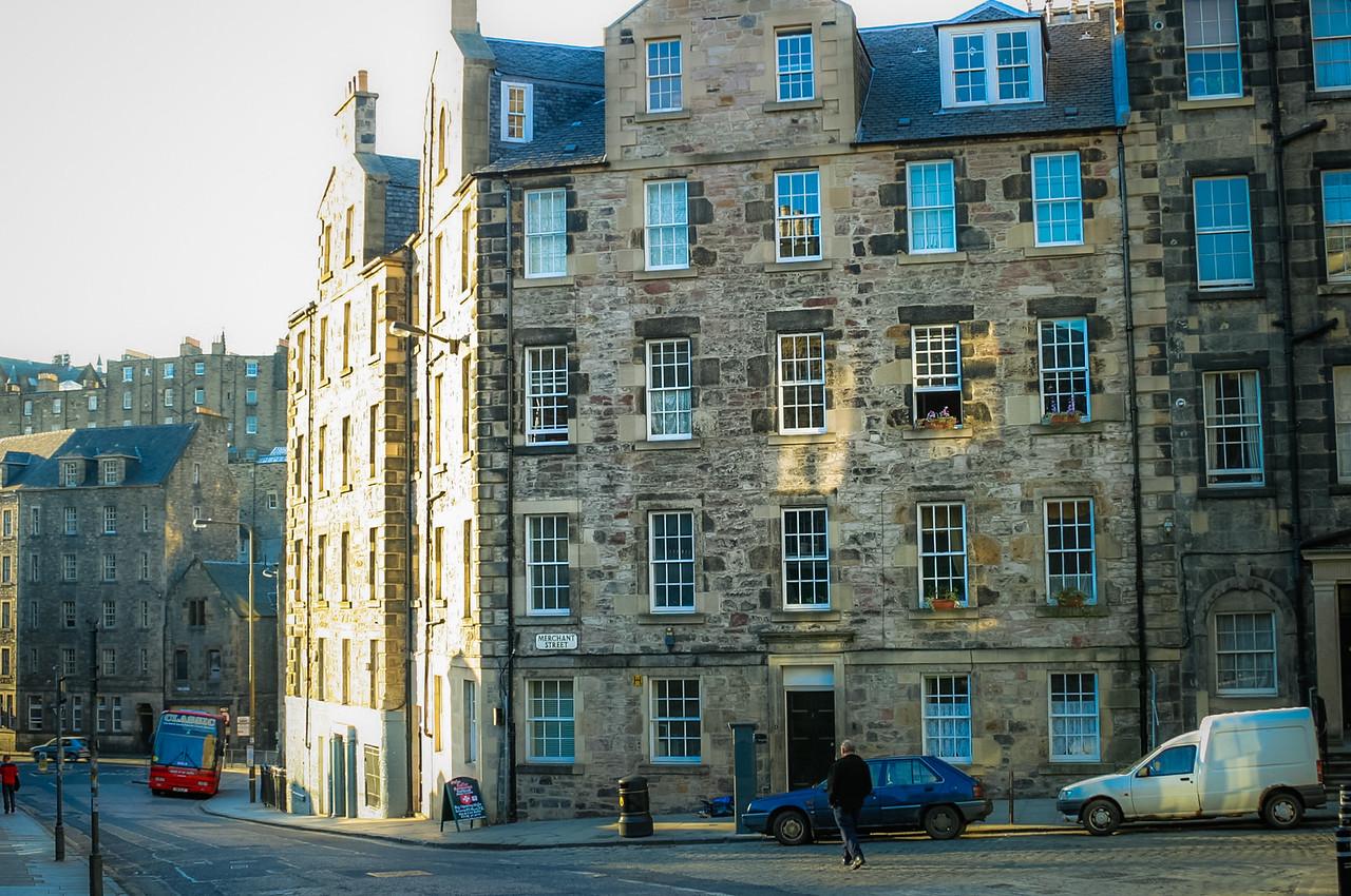 Merchant St & Cowgate, Edinburgh