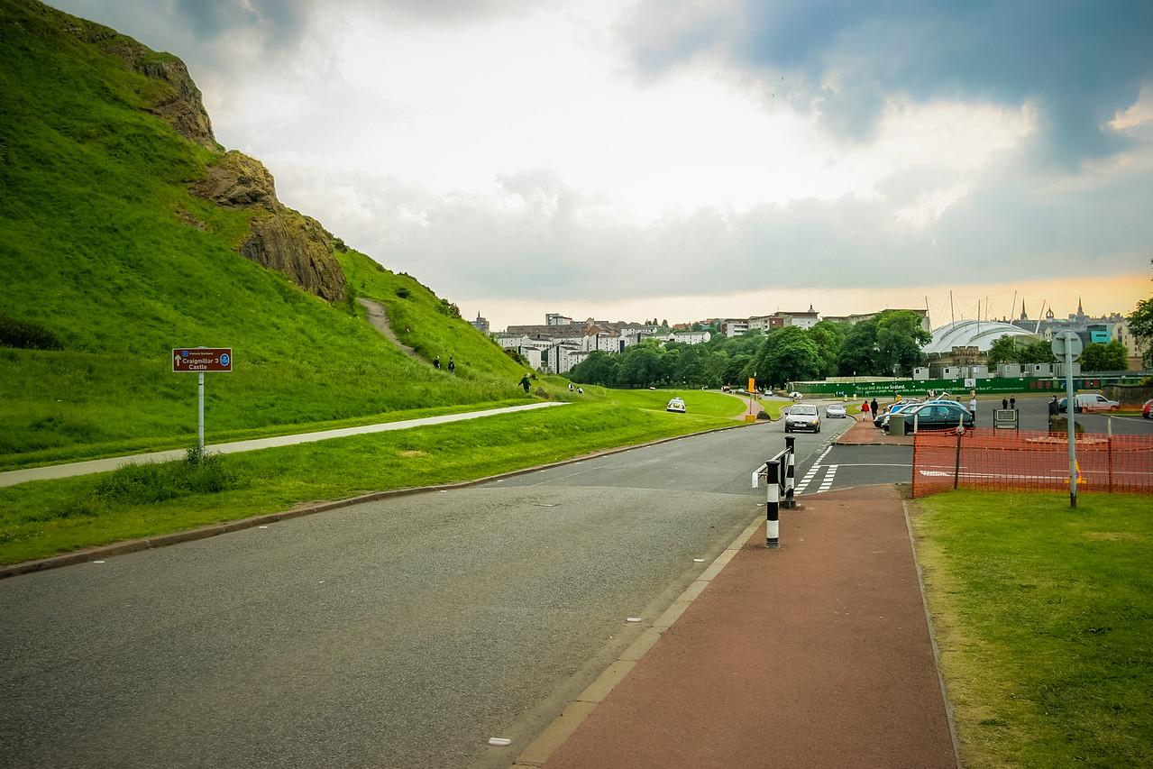 Holyrood Park, Edinburgh, Scotland