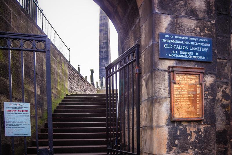 Old Calton Burial Ground, Edinburgh