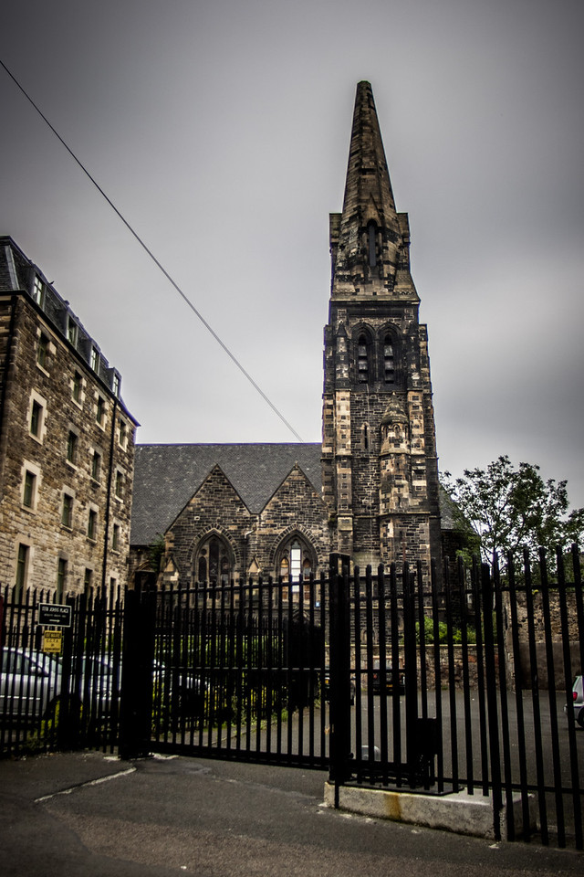 Leith, Scotland<br /> St James the Less Scottish Episcopal Church.