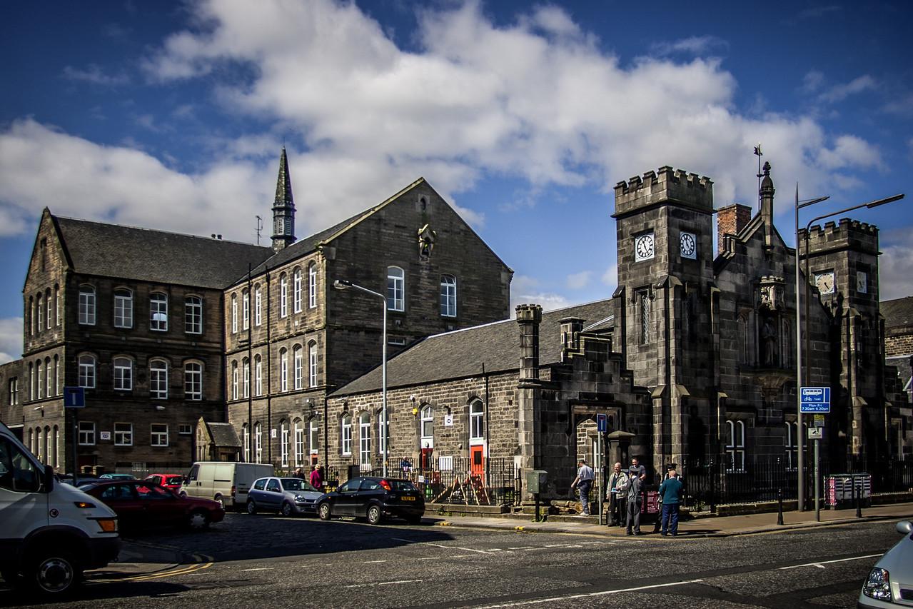 Leith, Edinburgh, Scotland<br /> Stanwell Nursery, Leith. Originally Dr Bells school building.