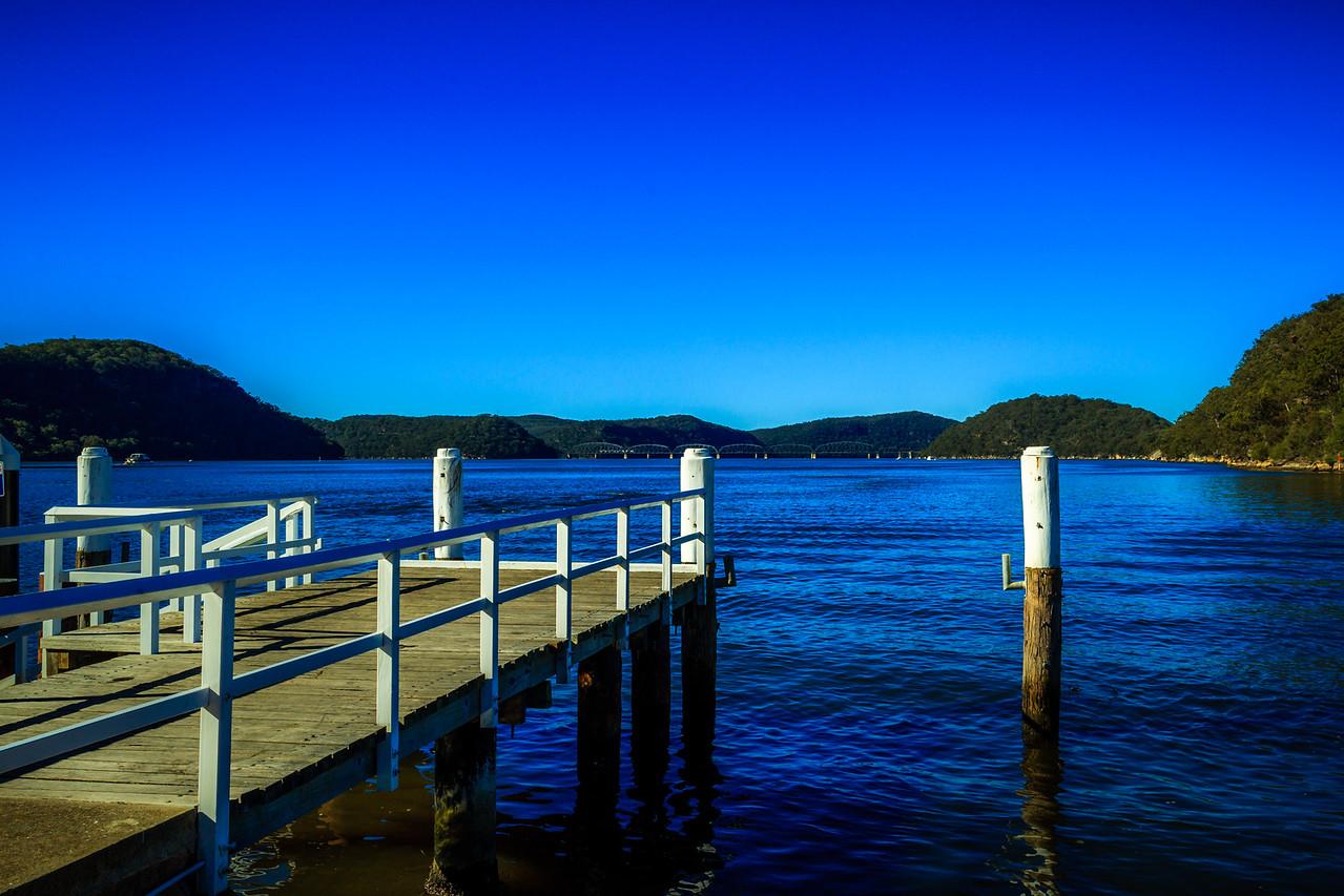 Kangaroo Point (Peats Ferry), Sydney, NSW, Australia