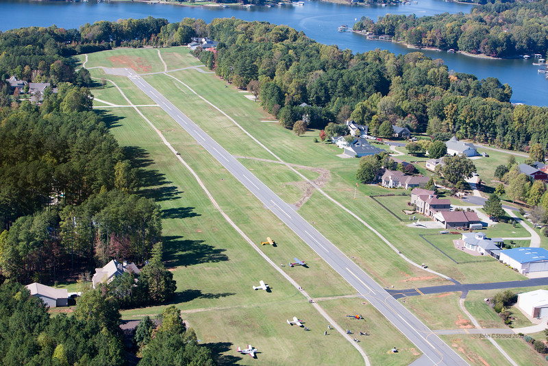 View of Lake Norman Air Park