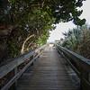 Pathway to the beach at Lori Wilson park.