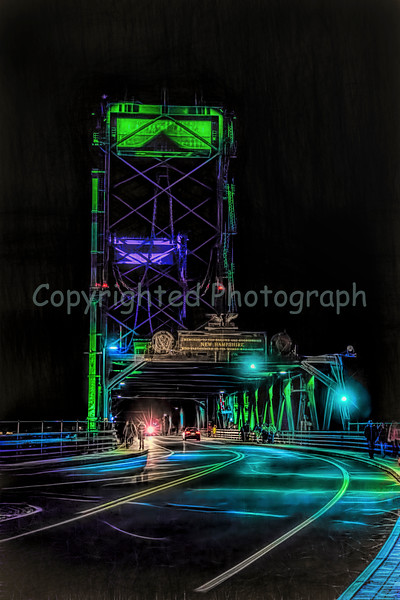 Memorial Bridge Bedraped