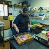 Executive Chef Damon Wynn stirs up a batch of Alabama Caviar.