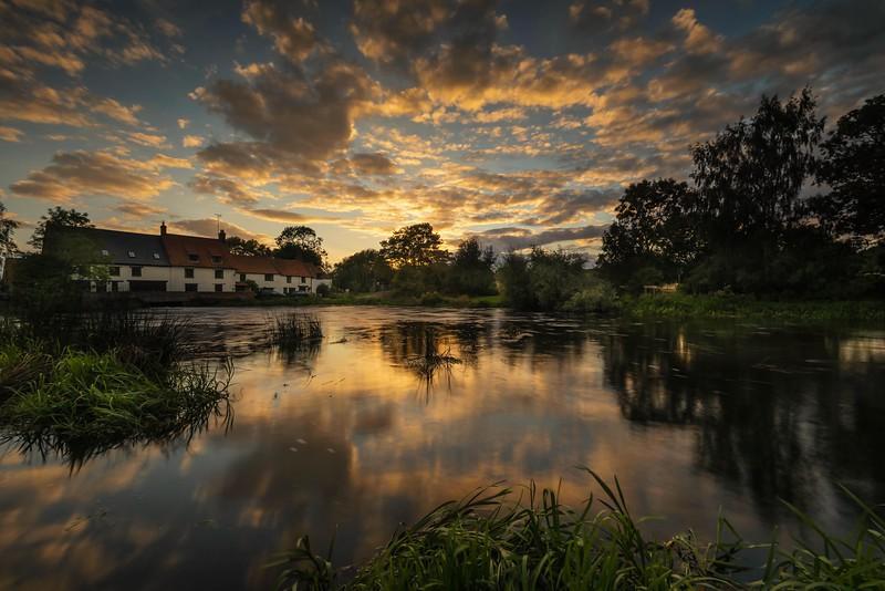 Mill Sunset