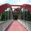 Footbridge at La Barriere Park