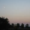 Park Under Crescent Moon