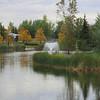 Fountain in Autumn