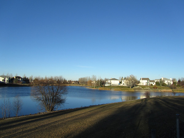 Blue Lake in Suburbia