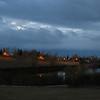 Flickering Lights in City Park