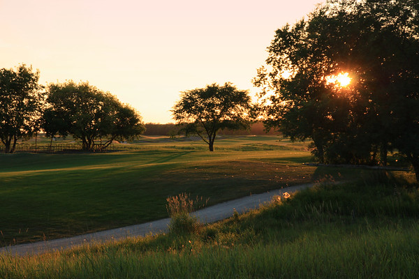 Southwood Golf Course in Evening