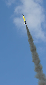 Another picture of Greg Smith's WAC Corporal ascending.  A beautiful and successful flight.  Photo by Greg Smith