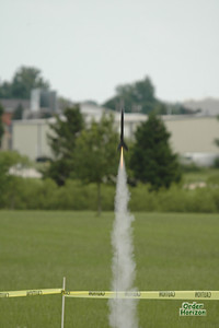 First time flyer launch. Black Dart / Estes Astro / A8-3 Photo: Alan M. Carroll