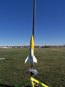 QUADDADDY!.. Flew OK.. Next time im going to fly it off the 6' rail.