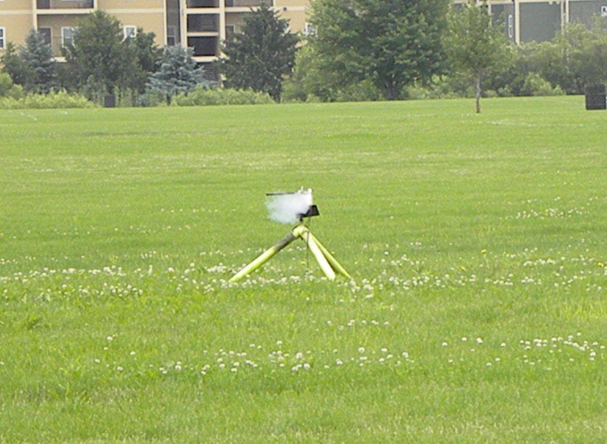 Jonathon Sivier's Papercut, a paper monocopter on a C6-3. photo by Christopher Brian Deem