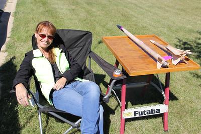 Club Member Sheila Z enjoying the sun