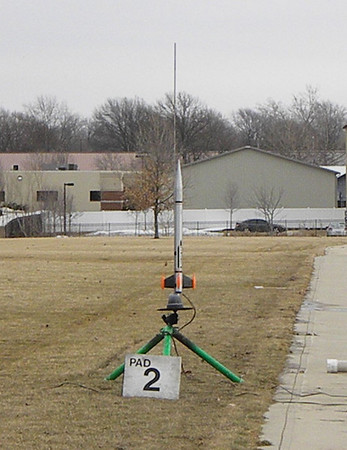 CIA Launch at Dodds Park 2/22/2014