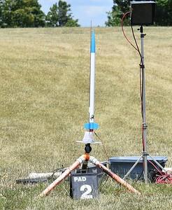 One of John Hall's rockets.