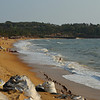50% crop  The loss of beach is from about 50 mtrs of beach from point of photo to about 30 mtrs at the first of the old Fort Aguada walls.