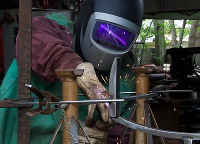 Lots and lots of welds will be made over the next several months.